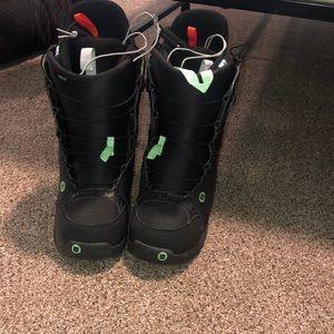 Burton boa snowboarding boots